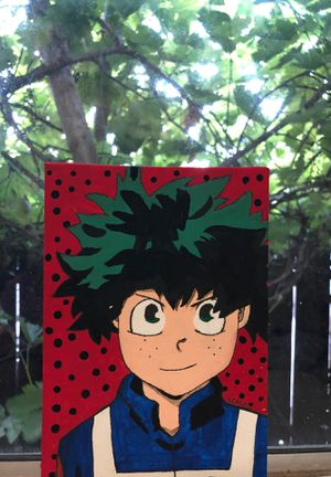Awesome art by me ✨(Midoriya from My hero academia🤩) for Sale in Oakdale, CA