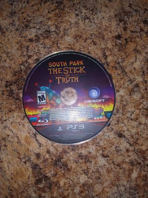 Ps3 game southpark stick of truth for Sale in Hyattsville, MD