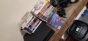 PS3 with lot of PS3 + PS2 Games + PS Move for Sale in Philadelphia, PA