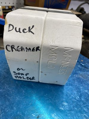 Ceramic duck creamer mold caste for Sale in Atlanta, GA