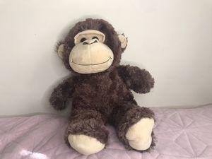 Brown stuffed monkey for Sale in Lawrenceville, GA