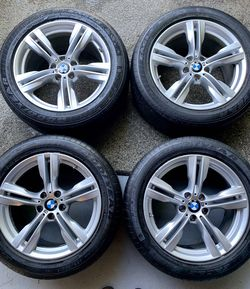 19' BMW X5 M-Sport wheels and tires - 255/50R19 for Sale in SeaTac,  WA
