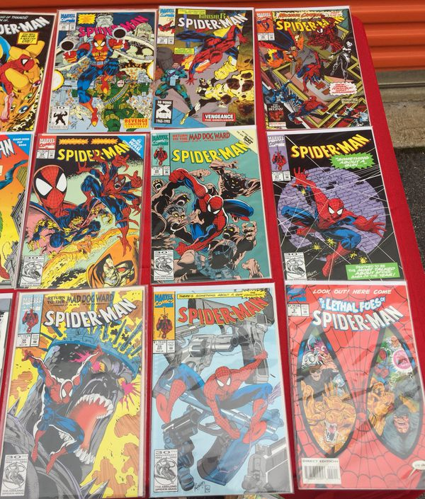 Lot of 111 spider-man comic books collection