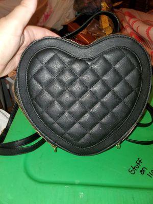 Black heart shaped backpack for Sale in Davenport, FL