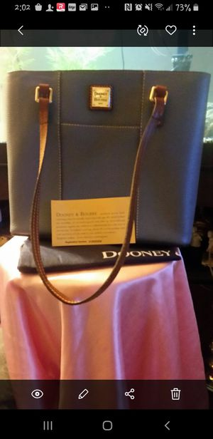 Dooney &Bourke Blue Lexington Purse for Sale in Wichita, KS