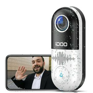 Video Doorbell WiFi,128GB 1080p HD Home Security Front Door Bell Camera Chime,2-Way Audio,Motion Detector,Easy Installation,Night Vision, Requires Exi for Sale in Carol Stream, IL