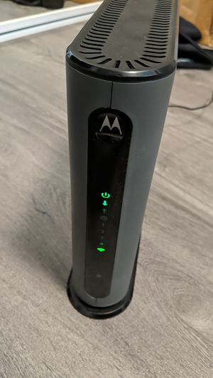 Motorola Cable modem + wireless router for Sale in South San Francisco, CA