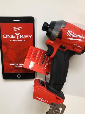 """Milwaukee New 1/4"""" IMPACT DRIVER (2857-20)fuel/Brushless.NEW GENERATION (ONE KEY: Bluetooth) (3 speed)BRAND NEW!!!Nuevo for Sale in Los Angeles, CA"""