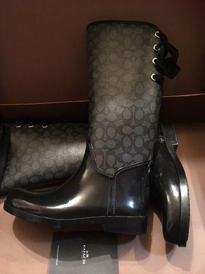 Coach rain boots for Sale in Sacramento, CA