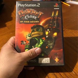 Ps2 Ratchet And Clank Up Your Arsenal for Sale in Glendale, AZ