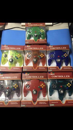 Nintendo 64 controllers $25 each for Sale in Miami, FL