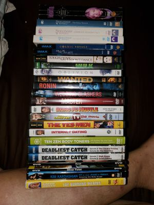 24 dvds for $15 for Sale in Davenport, FL