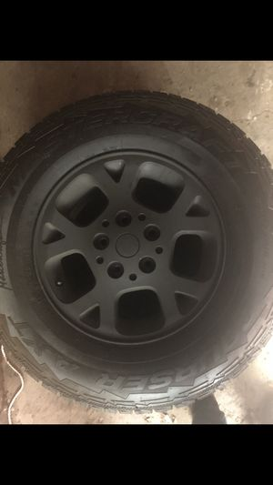 "Size 16"" BLACK RIMS for Sale in Cleveland, OH"