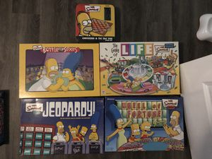 Simpsons Board Games for Sale in Woodstock, GA