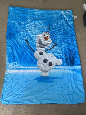 Twin Comforter - Olaf for Sale in Orlando, FL