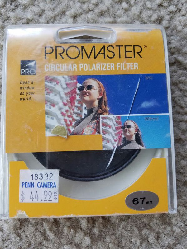 ProMaster 4.5 out of 5 stars 2Reviews ProMaster 67mm Circular Polarizing