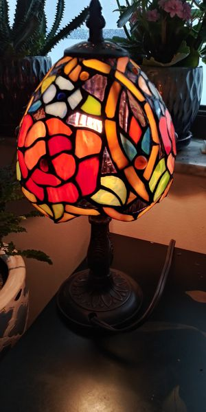 Tiffany Style glass lamp for Sale in Melbourne, FL