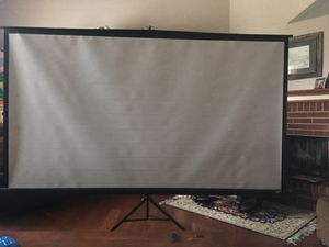 Projector screen for Sale in Garland, TX