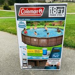 18 ft Coleman pool, new in box for Sale in Fresno, CA