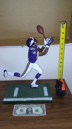 Minnesota Vikings Randy Moss one foot tall NFL action figure for Sale in Cleveland, OH