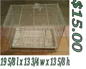 Used bird cage for Sale in Hacienda Heights, CA