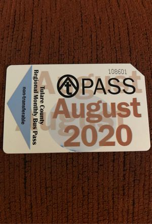 Bus pass for Sale in Tulare, CA