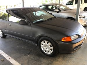 1994 Honda Civic runs good no salvage title news joins new tires $1500 for Sale in Moreno Valley, CA
