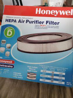 2 Honeywell Hepa Air Purifier Filter for Sale in Renton,  WA