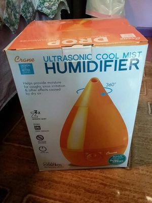 Ultrasonic cool mist humidifier for Sale in Dale City, VA