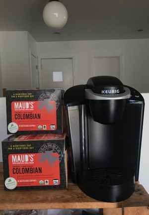 Keurig PLUS 3 Boxes of -Maud's Organic Colombian Coffee Capsules- for Sale in Ventura, CA