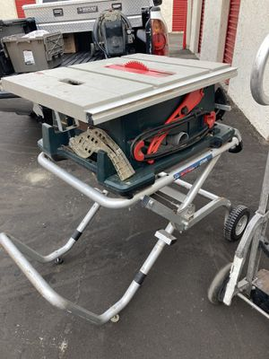 BOSCH 15 Amp 10 in. Corded Portable Jobsite Table Saw with Gravity Rise Wheeled Stand for Sale in Spring Valley, CA