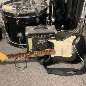 Used Guitar With Amp Combo for Sale in Haverhill, MA