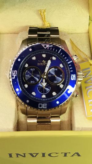 Invicta Pro Diver Men's Chronograph 45mm Stainless Steel Blue Dial Watch for Sale in Anaheim, CA