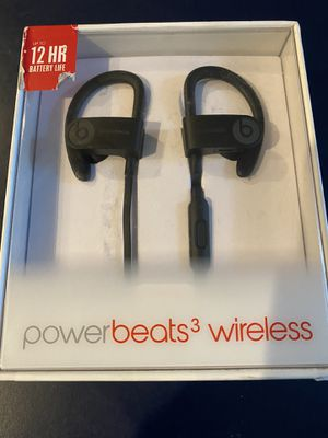 POWER BEATS 3 WIRELESS for Sale in Melrose, MA
