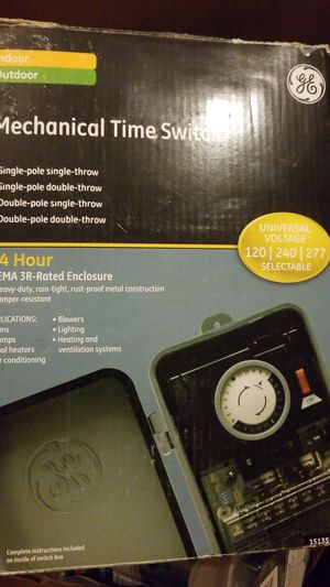 Mechanical time switch for Sale in Hyattsville, MD