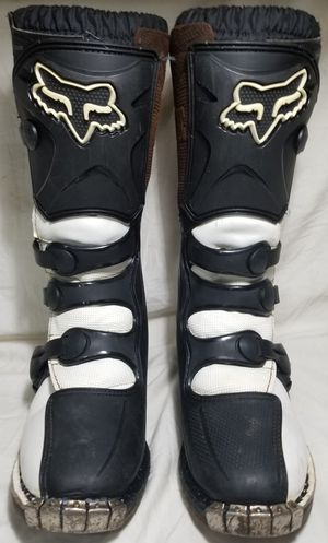 Fox Dirtbike Boots Girls Tracker Size 8 for Sale in Tulalip, WA