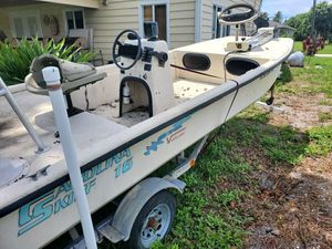 Rare 1997 v16 Carolina Skiff for Sale in Delray Beach, FL