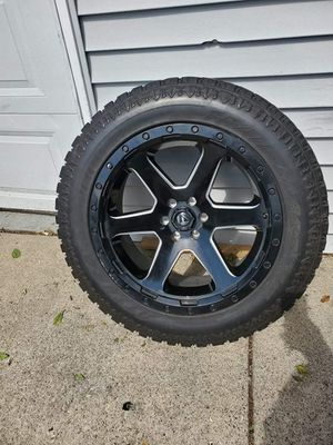 "20"" FUEL RIMS/TIRES LIKE NEW for Sale in Bellwood, IL"