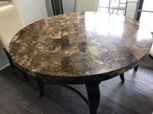 Dining Or Breakfast Table Granite Top for Sale in Richardson, TX