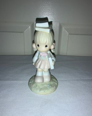 "PRECIOUS MOMENTS 1988 ""September Porcelain Figurine"" for Sale in Beaverton, OR"