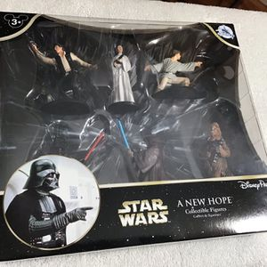 DISNEY EXCLUSIVE STAR WARS A NEW HOPE COLLECTIBLE FIGURES for Sale in Orlando, FL