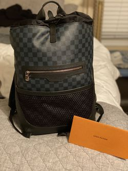 Louis Vuitton Backpack Matchpoint Damier Cobalt Black/Blue for Sale in Raleigh,  NC