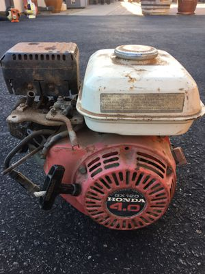 Honda GX120 gas motor for parts for Sale in Escondido, CA
