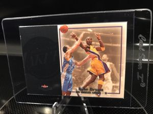 2004 Fleer Kobe Bryant Basketball Card - Lakers Jersey 24 Black Mamba RARE Collectible - $13 OBO for Sale in Carlsbad, CA
