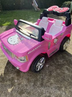 Hello Kitty Kid Truck 12V for Sale in Vancouver,  WA