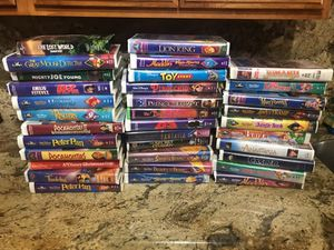 Disney vhs tapes for Sale in Peoria, AZ