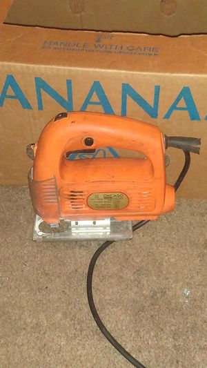 Chicago electric jig saw for Sale in Belleview, FL