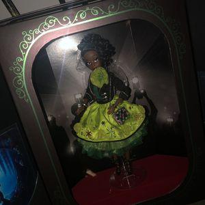 Tiana Disney designer doll Christmas gift for Sale in Tampa, FL