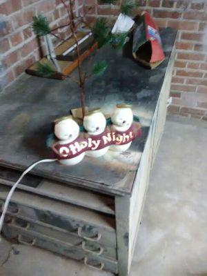 Snowman lamp for Sale in La Rose, IL