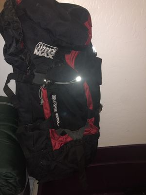 Coleman max hiking backpack for Sale in Litchfield Park, AZ